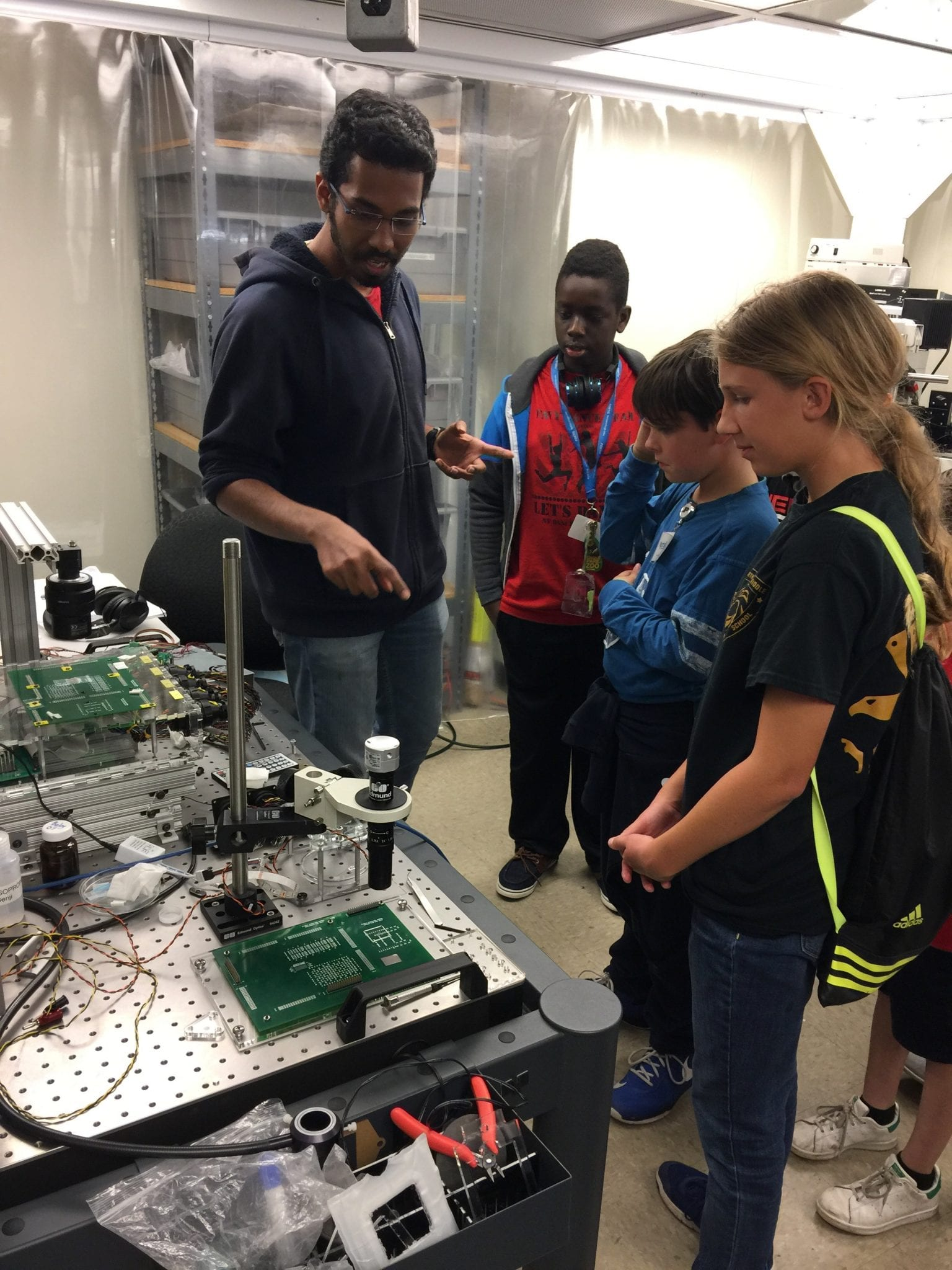Msral Hosts The Northview Middle School Robotics Club Multiscale